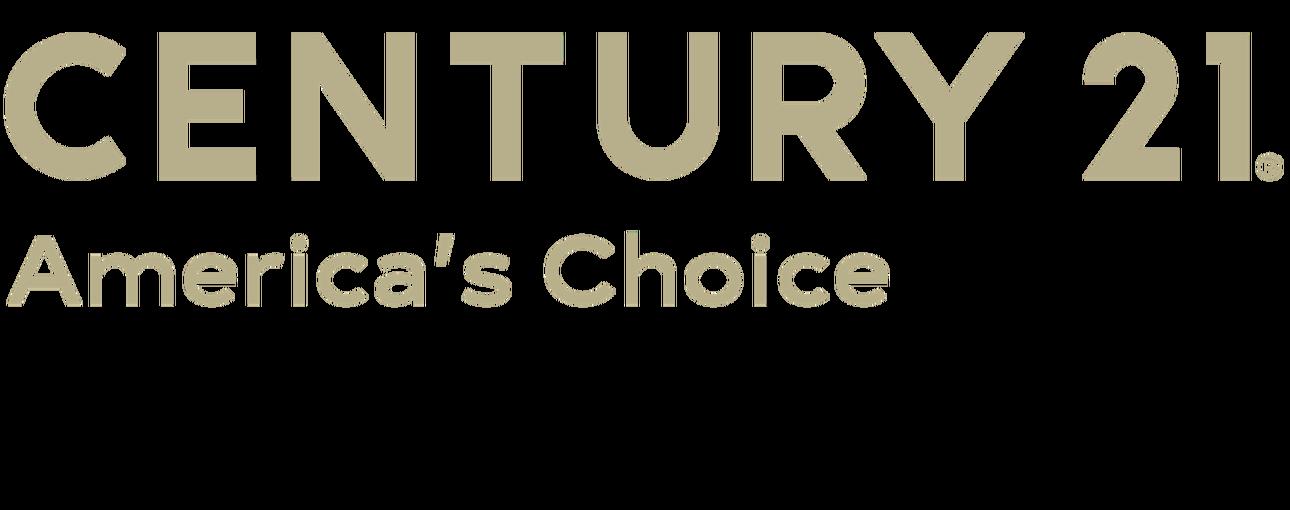 GEORGE GAMBLE of CENTURY 21 America's Choice logo