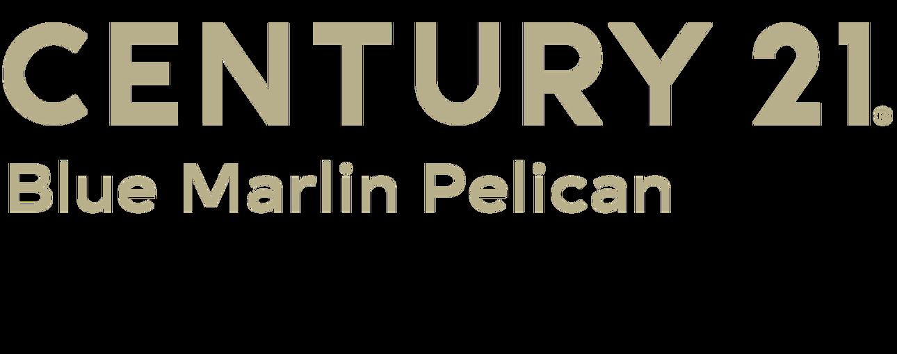 Victoria Hughes of CENTURY 21 Blue Marlin Pelican logo