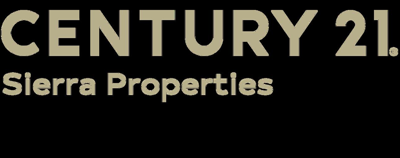 Joan Irish of CENTURY 21 Sierra Properties logo