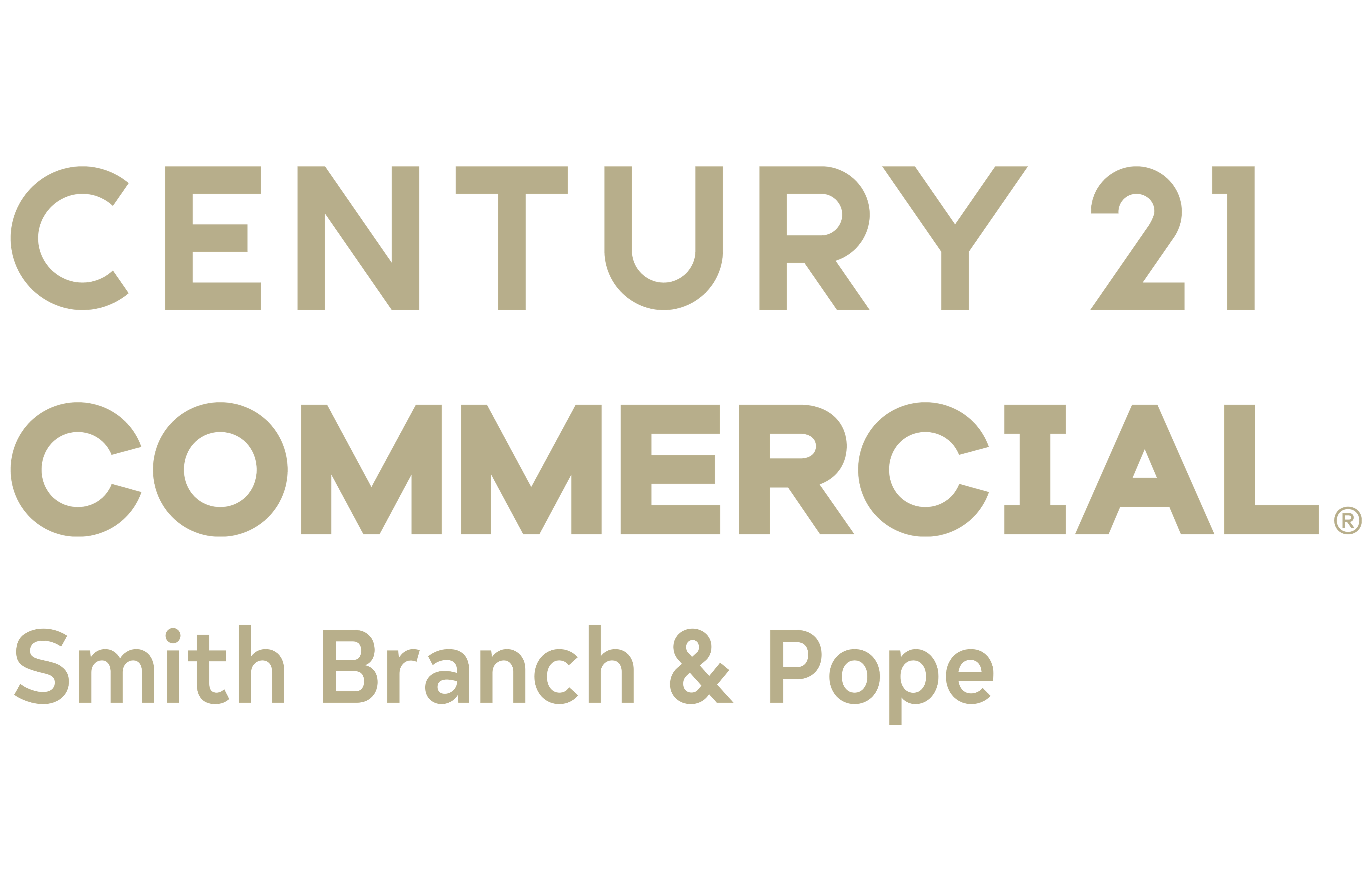 Josh Pope of CENTURY 21 Smith Branch & Pope logo