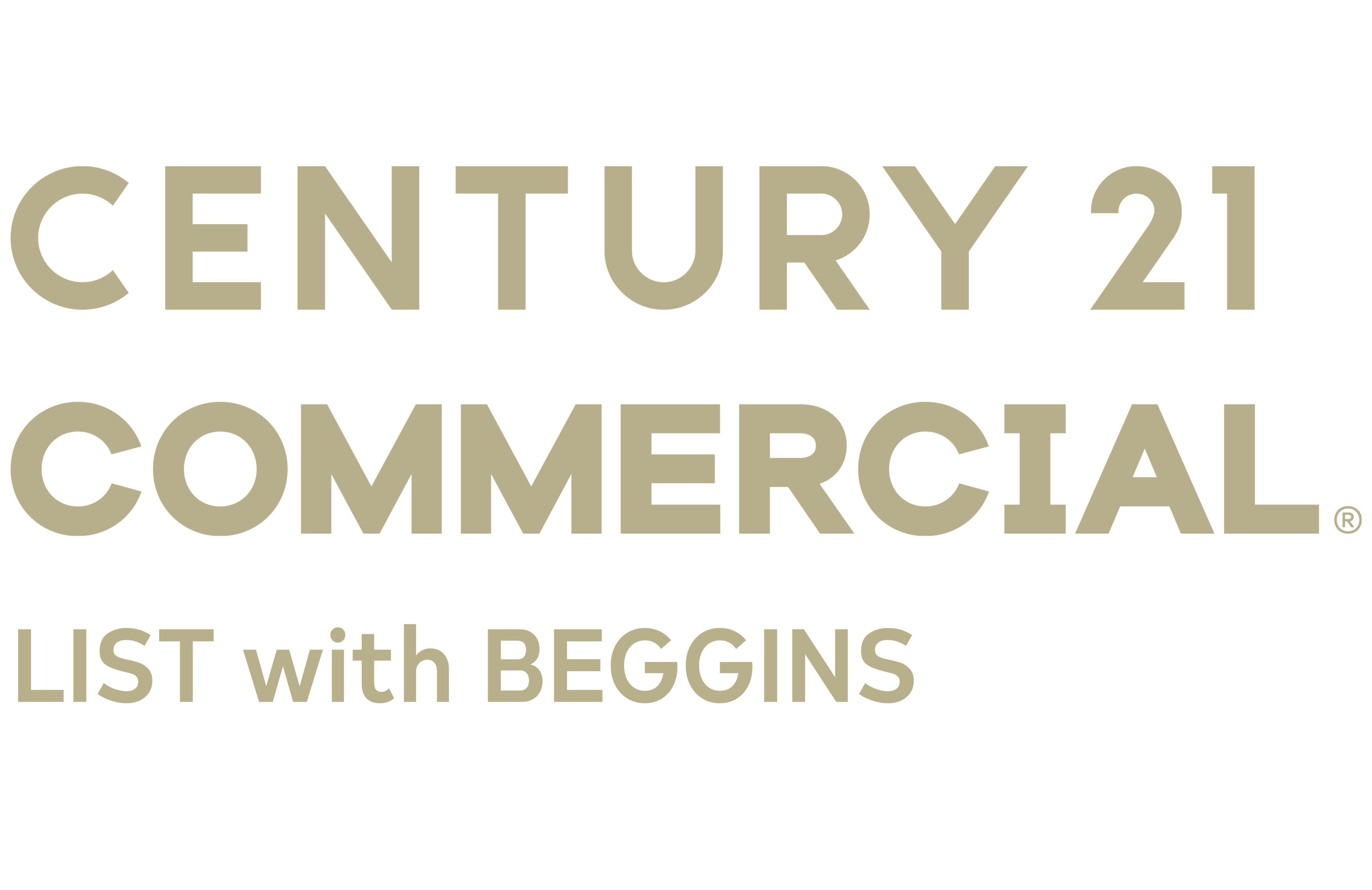 Kimberly Bowden of CENTURY 21 LIST with BEGGINS logo