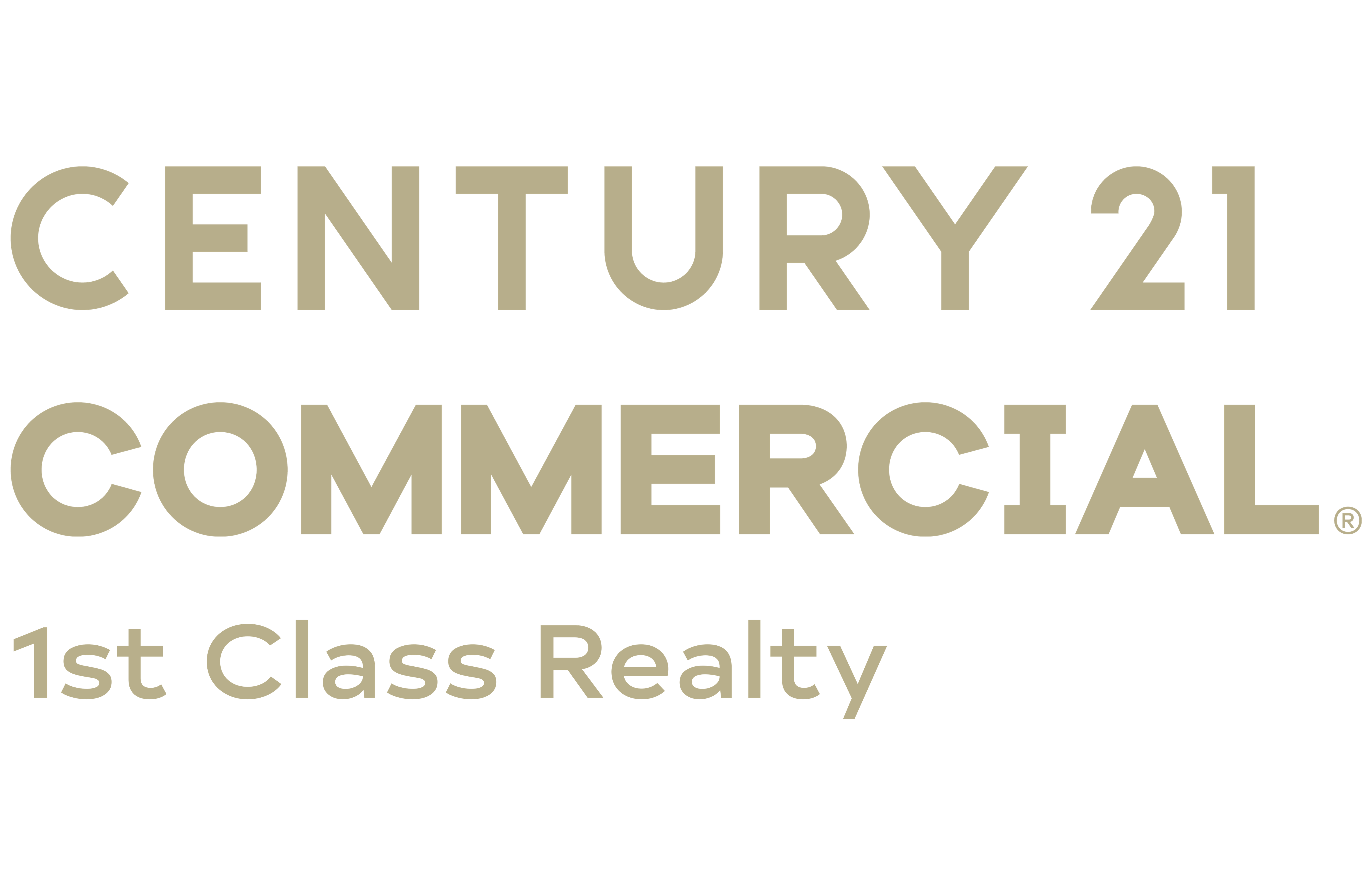 C Wallace Hume of CENTURY 21 1st Class Realty logo