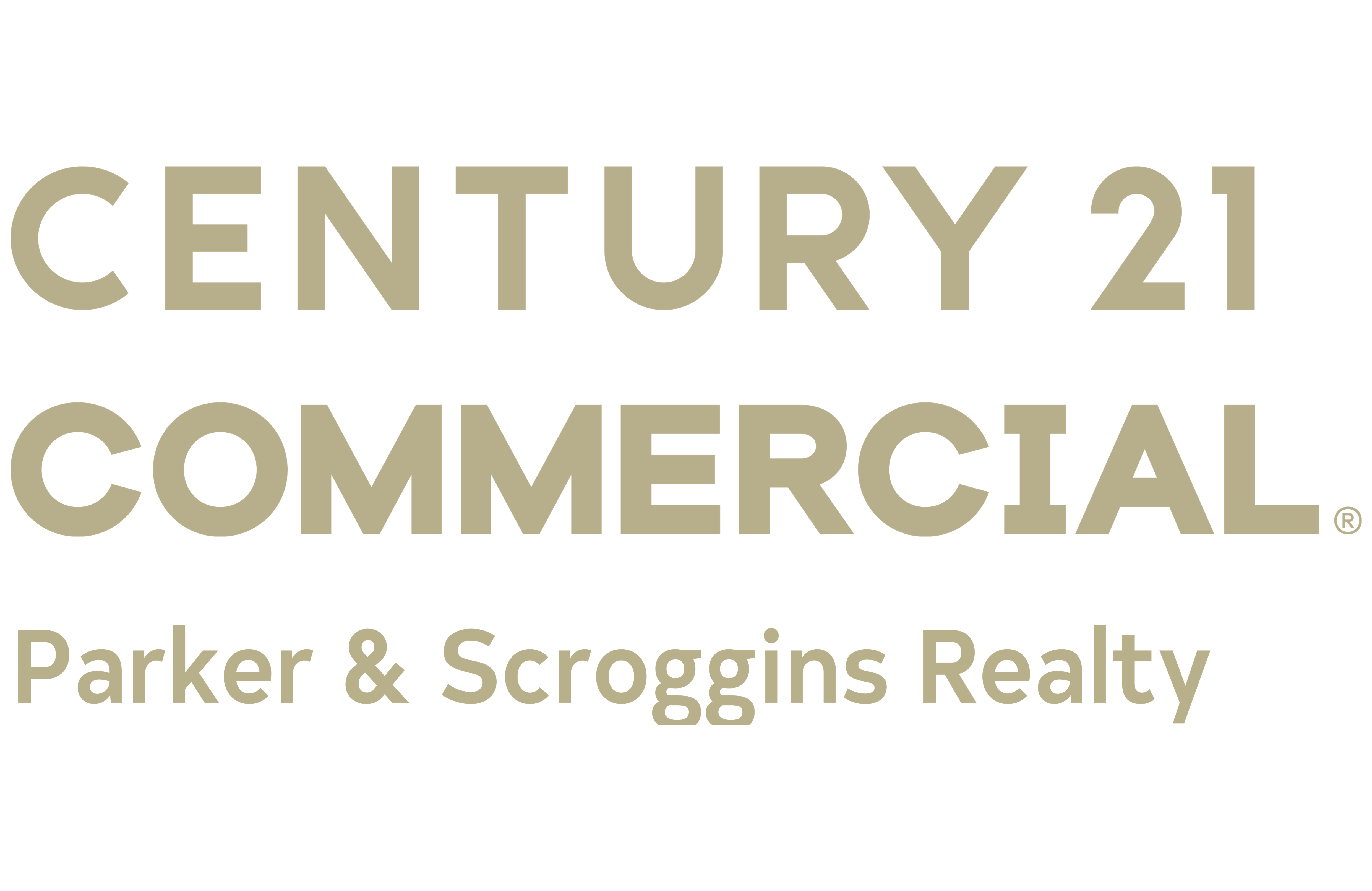 Parker Scroggins Team of CENTURY 21 Parker & Scroggins Realty logo