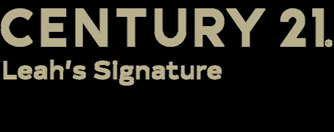 Caleb Longley of CENTURY 21 Leah's Signature logo