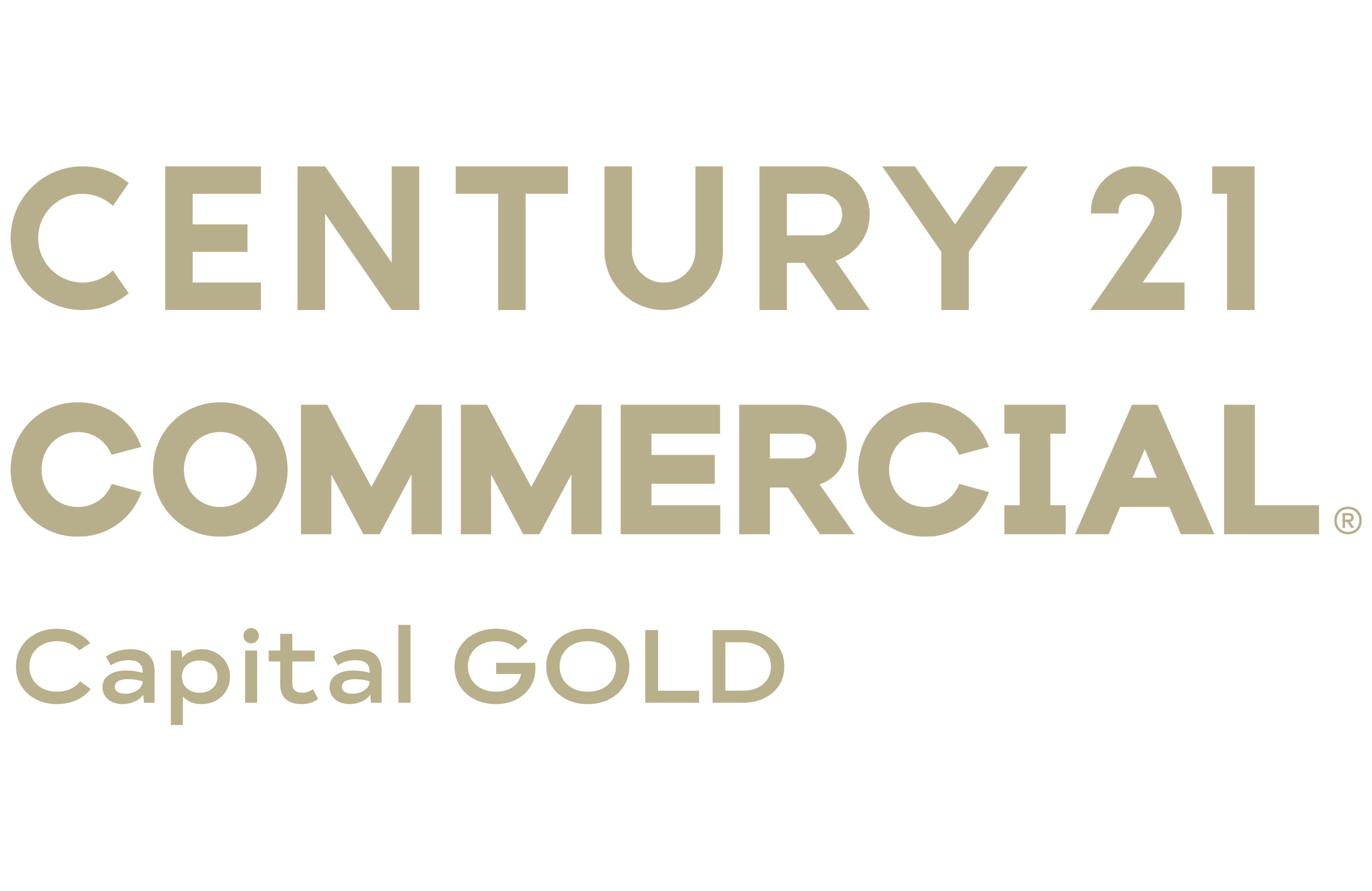 Tim Russell of CENTURY 21 Capital GOLD logo