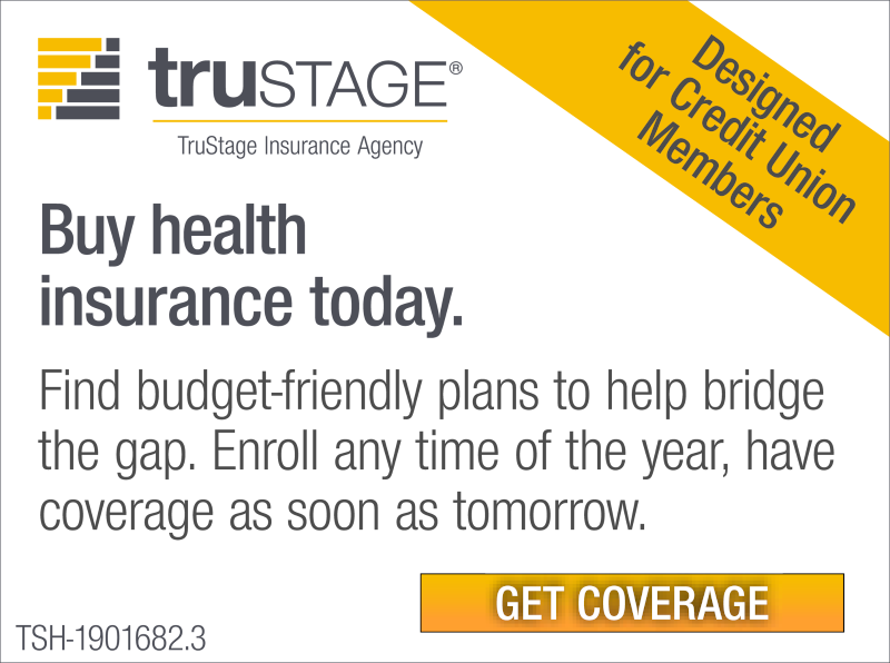 Find budget-friendly plans to help bridge the gap. Enroll any time of the year, have coverage as soon as tomorrow with TruStage.