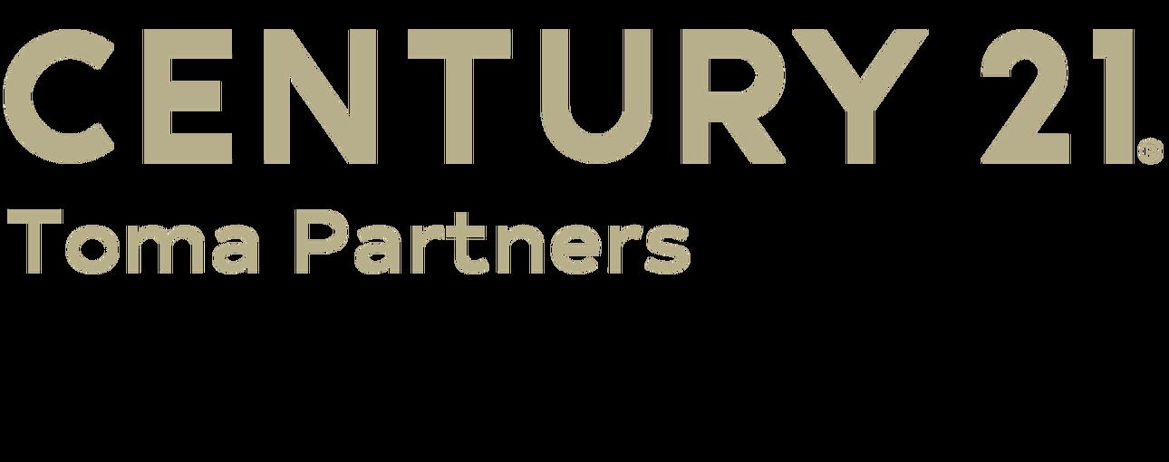 Sarah Gallardo of CENTURY 21 Toma Partners logo