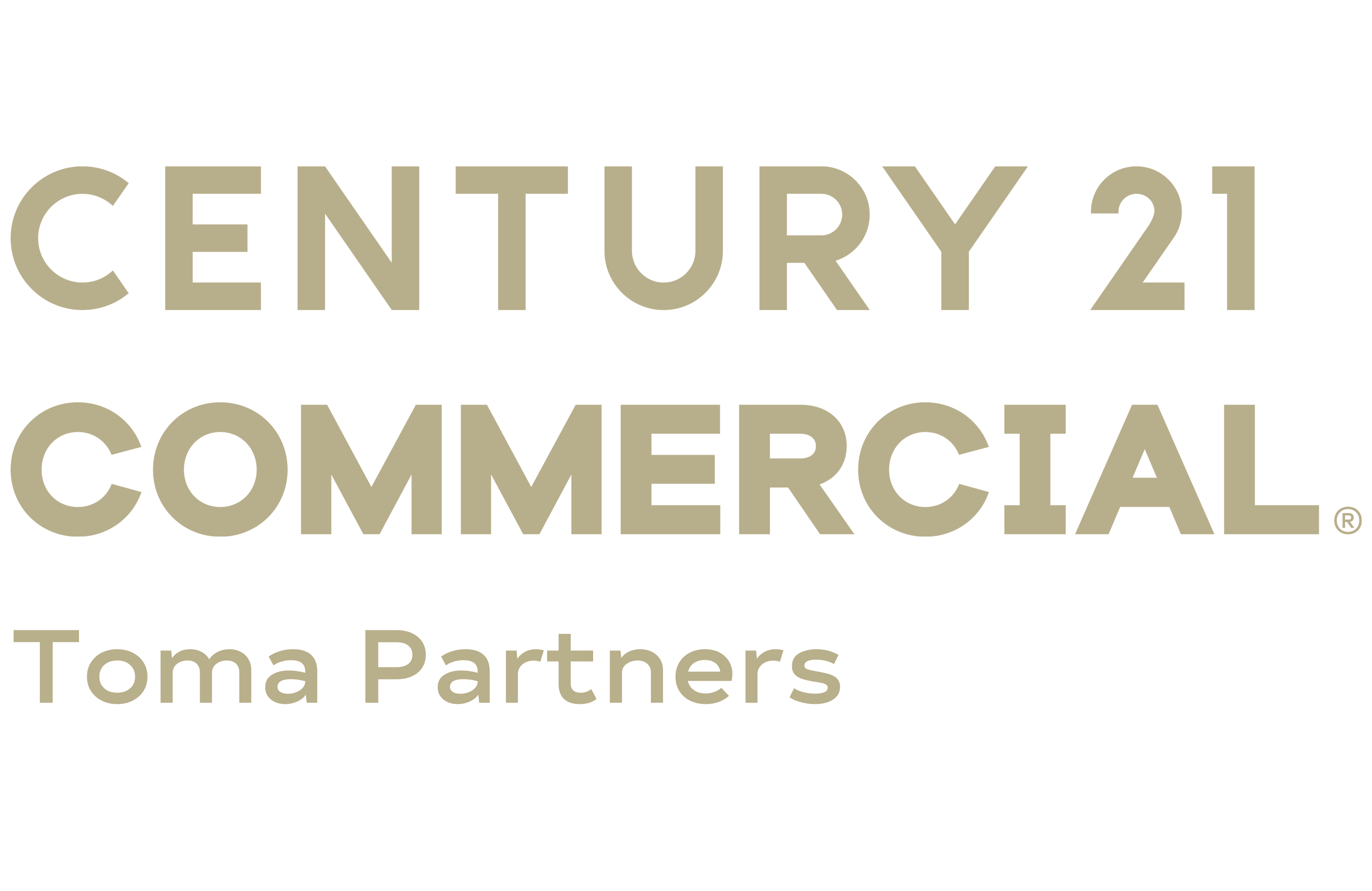 Benjamin Toma of CENTURY 21 Toma Partners logo