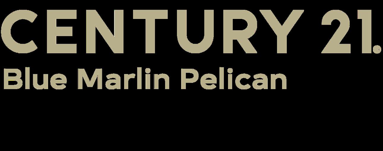 Stefanie Greenwood of CENTURY 21 Blue Marlin Pelican logo