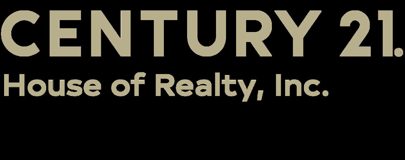 Linda Jackson of CENTURY 21 House of Realty, Inc. logo
