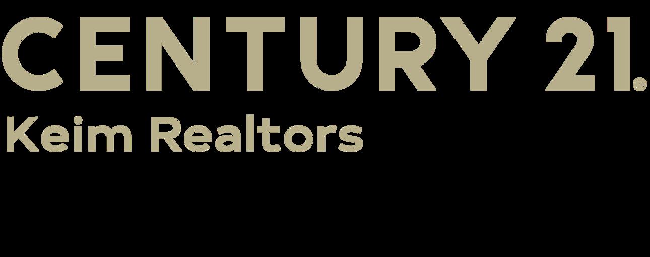 Kristofer Spevak of CENTURY 21 Keim Realtors logo